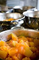Belo Horizonte_MG, Brasil...Festival Gastronomico Sabor e Saber, na foto detalhe de melao cozido...The Gastronomic Festival Sabor e Saber, in this photo some melons cooked...Foto: BRUNO MAGALHAES / NITRO