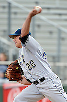Pittsburgh Panthers pitcher Cole Taylor (22) during game against St.John's Red Storm at Jack Kaiser Stadium in Queens, New York;  May 7, 2011.  St. John's defeated Pittsburgh 7-0.  Photo By Tomasso DeRosa/Four Seam Images