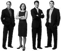 Title: Ayres, McHenry & Associates, Inc..Photographer: Aaron Clamage.Caption: Dr. Whit Ayres,  Cheryl Martin Glenn, Jon McHenry, Dan Judy