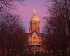 Dec. 10, 2015; Dome at sunrise (Photo by Matt Cashore/University of Notre Dame)