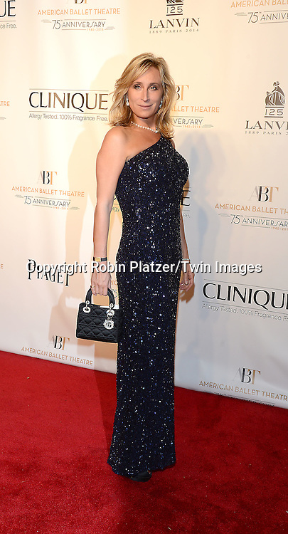 Sonja Morgan attends the Opening Night of American Ballet Theatre 2014 Fall Gala on October 22,2014 at the David Koch Theater at Lincoln Center in New York City. <br /> <br /> photo by Robin Platzer/Twin Images<br />  <br /> phone number 212-935-0770