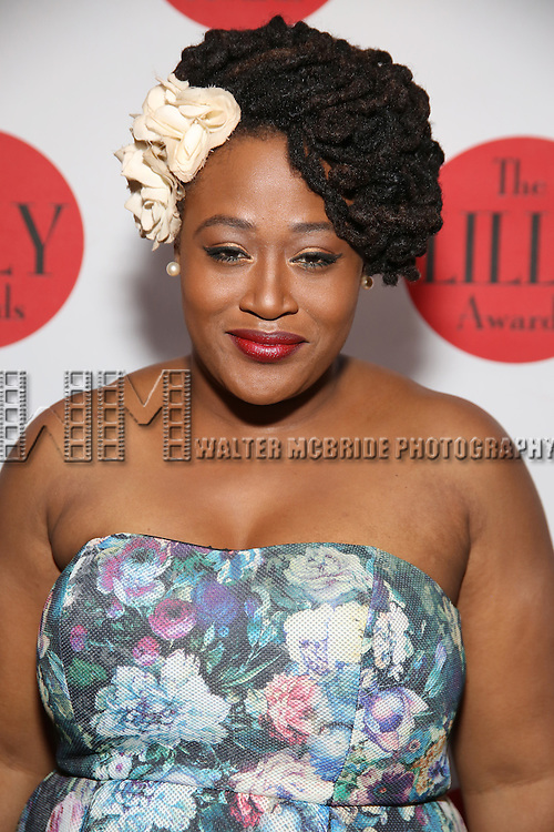 Charity Angel Dawson attends The Lilly Awards Broadway Cabaret at the Cutting Room on October 17, 2016 in New York City.