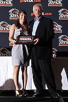 SAN ANTONIO , TX - APRIL 29, 2010: The University of Texas at San Antonio Athletic Banquet at the University Center Ballroom. (Photo by Jeff Huehn)