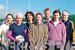 Super fit l-r: Martina foley, Anna O'Mahony, Patricia Quane, Margaret Foley, Kathryn Shaw, Elaine O'Sullivan and Alison Kirwan all Killorglin who completed the Duathlon in Killorglin on Saturday   Copyright Kerry's Eye 2008