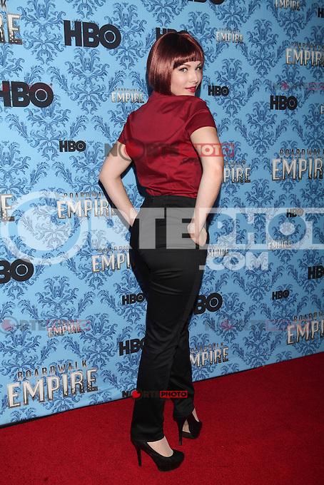 NEW YORK, NY - SEPTEMBER 05: Erin Lynn Cummings attends HBO's 'Boardwalk Empire' Season Three New York Premiere at Ziegfeld Theater on September 5, 2012 in New York City. &copy; Diego Corredor/MediaPunch Inc. /NortePhoto.com<br /> <br /> **CREDITO*OBLIGATORIO** <br /> *No*Venta*A*Terceros*<br /> *No*Sale*So*third*<br /> *** No*Se*Permite*Hacer*Archivo**<br /> *No*Sale*So*third*