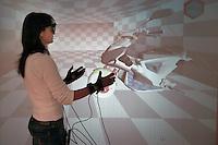 - Scuola Superiore S.Anna di Pisa, polo della ricerca di Pontedera-Valdera, Laboratorio PERCRO (Perceptual Robotics): telepresenza, presenza simultanea, presenza virtuale e interazione fisica con la realtà virtuale....- Advanced School S.Anna of Pisa, pole of the search of Pontedera-Valdera, Laboratory PERCRO ( Perceptual Robotics ): simultaneous presence , virtual presence and physical interaction with the virtual reality