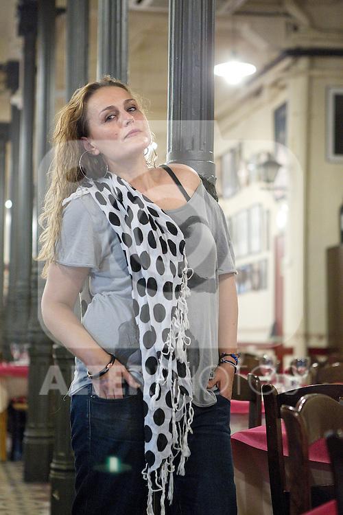 La ex bailaora Ibone Jimenez en el Casa Patas del centro de Madrid. (ALTERPHOTOS/Alvaro Hernandez)
