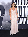 Elena Goode attends The Universal Pictures' STRAIGHT OUTTA COMPTON World Premiere held at The Microsoft Theatre  in Los Angeles, California on August 10,2015                                                                               © 2015 Hollywood Press Agency