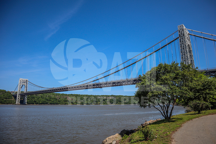NOVA YORK, EUA, 22.05.2019 - TURISMO-EUA - Vista da Ponte George Washington em Manhattan na cidade de Nova York nesta quarta-feira, 22. (Foto: William Volcov/Brazil Photo Press)