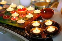 Nederland  Amsterdam. Divali viering in de Bijlmer in de Lord Shiva Hindu Temple.  Foto Berlinda van Dam / Hollandse Hoogte