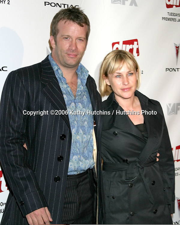 "Thomas Jane .Patricia Arquette.""Dirt"" Screening.Paramount Theater, Paramount Studios.Los Angeles, CA.December 9, 2006.©2006 Kathy Hutchins / Hutchins Photo."