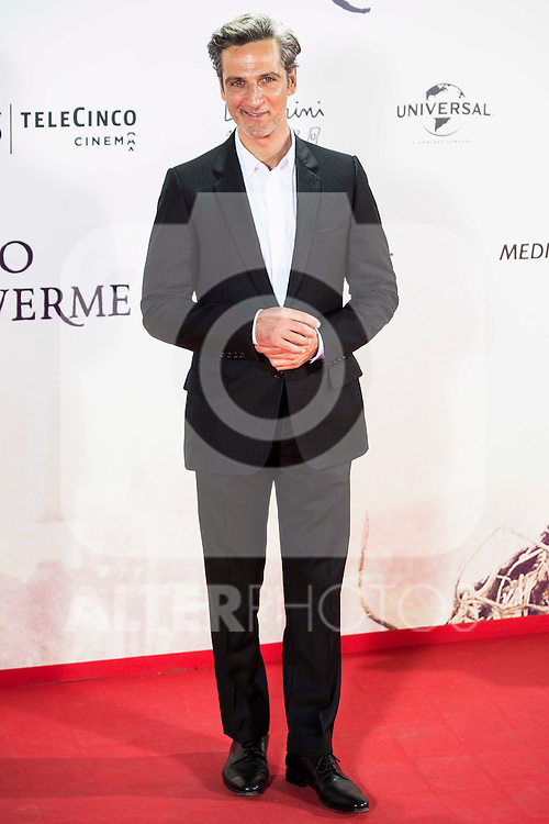 "Ernesto Alterio during the premiere of the spanish film ""Un Monstruo Viene a Verme"" of J.A. Bayona at Teatro Real in Madrid. September 26, 2016. (ALTERPHOTOS/Borja B.Hojas)"