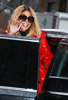 NEW YORK, NY - JANUARY 12: Wendy Williams seen after an appearance on ABC's The View in New York City on January 12, 2018. Credit: RW/MediaPunch