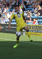 Kenny McLean in the Kilmarnock v St Mirren Scottish Professional Football League Premiership match played at Rugby Park, Kilmarnock on 13.9.14.