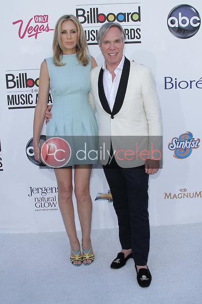 Dee Hilfiger, Tommy Hilfiger<br /> at the 2012 Billboard Music Awards Arrivals, MGM Grand, Las Vegas, NV 05-20-12<br /> David Edwards/DailyCeleb.com 818-249-4998