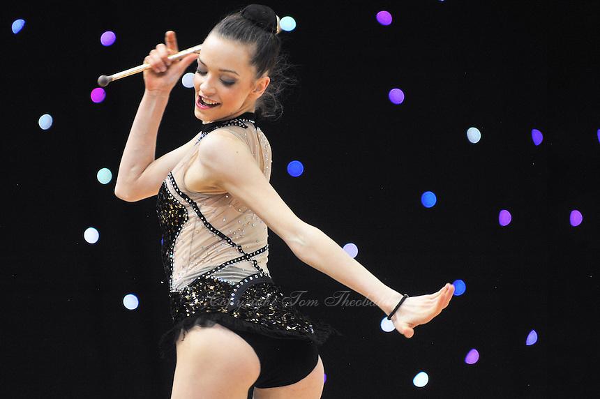 "February 8, 2014 - Tartu, Estonia - RADINA FILIPOVA of Bulgaria performs at ""Miss Valentine 2014"" international tournament."