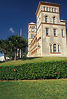 Bermuda, Hamilton, Sessions House the historic Parliament Building in the town of Hamilton in Bermuda.