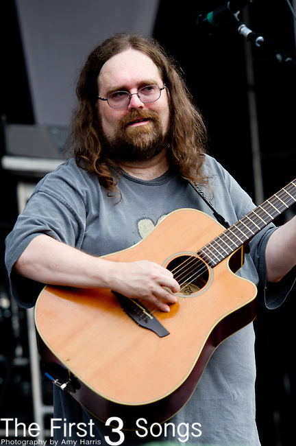 Jeff Mattson of Dark Star Orchestra performs during the All Good Music Festival at Legend Valley in Thornville, Ohio.