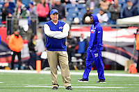 Sunday, October 2, 2016: Buffalo Bills head coach Rex Ryan before the NFL game between the Buffalo Bills and the New England Patriots held at Gillette Stadium in Foxborough Massachusetts. Buffalo defeats New England 16-0. Eric Canha/Cal Sport Media