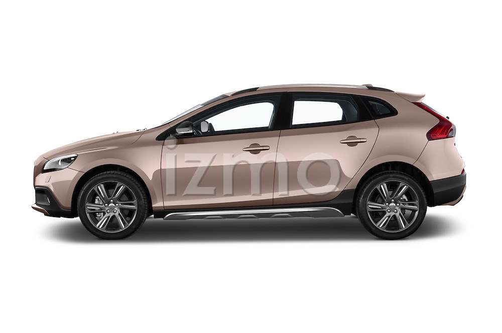 Driver side profile view of a 2013 Volvo V40 Cross Country Summum Hatchback