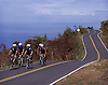 Cyclists on a ride with Go Cycling Maui pass through lava fields and dry grasses on the leeward side of Maui. Photo by Kevin J. Miyazaki/Redux