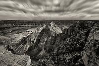 View of Walhalla Plateau. Grand Canyon National Park, Arizona