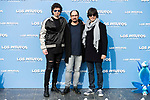 "Pablo Ibañez, Jordi Sanchez and Luis Piedranhita attends to the presentation of the film ""Ls Pitufos"" in Madrid. March 14, 2017. (ALTERPHOTOS/Borja B.Hojas)"