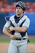 March 14, 2010:  Catcher Kevin Drozin of Bucknell University Bisons vs. UMBC in a game at Chain of Lakes Stadium in Winter Haven, FL.  Photo By Mike Janes/Four Seam Images
