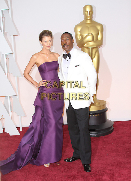 22 February 2015 - Hollywood, California - Eddie Murphy, Paige Butcher. 87th Annual Academy Awards presented by the Academy of Motion Picture Arts and Sciences held at the Dolby Theatre. <br /> CAP/ADM<br /> &copy;AdMedia/Capital Pictures Oscars