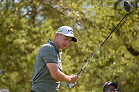 Aaron Wise (USA) reacts to his tee shot on 12 during day 1 of the WGC Dell Match Play, at the Austin Country Club, Austin, Texas, USA. 3/27/2019.<br /> Picture: Golffile | Ken Murray<br /> <br /> <br /> All photo usage must carry mandatory copyright credit (&copy; Golffile | Ken Murray)