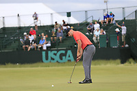 Harry Ellis (AM)(ENG) putts on the 8th green during Friday's Round 2 of the 118th U.S. Open Championship 2018, held at Shinnecock Hills Club, Southampton, New Jersey, USA. 15th June 2018.<br /> Picture: Eoin Clarke | Golffile<br /> <br /> <br /> All photos usage must carry mandatory copyright credit (&copy; Golffile | Eoin Clarke)