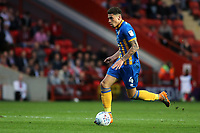 Ben Godfrey of Shrewsbury Town in action during Charlton Athletic vs Shrewsbury Town, Sky Bet EFL League 1 Play-Off Football at The Valley on 10th May 2018