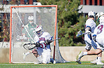 Los Angeles, CA 02/06/16 - Paul Naimo (Loyola Marymount #31)in action during the Cal Poly SLO Mustangs vs Loyola Marymount Lions MCLA Men's Lacrosse game.  Cal Poly defeated LMU 24-5