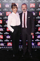 "Mel Giedroyc and Graham Norton<br /> at the ""Let it Shine"" launch, Ham Yard Hotel, London.<br /> <br /> <br /> ©Ash Knotek  D3214  13/12/2016"