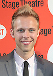 Justin Paul.attending the Off-Broadway Opening Night Performance of Second Stage Theatre's 'Dogfight' at the Second Stage Theatr in New York City.
