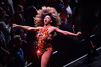 Brooklyn, NY - June 26, 2019: Drag entertainer Shangela from RuPaul's Drag Race performs during the opening ceremony for NYC World Pride at the Barclays Center in Brooklyn, New York June 26, 2019.  (Photo by Don Baxter/Media Images International)