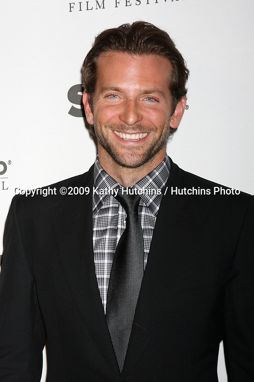 Bradley Cooper.arriving at the 13th Annuall Hollywood Film Festival Awards Gala Ceremony.Beverly Hilton Hotel.Beverly Hills,  CA.October 26, 2009.©2009 Kathy Hutchins / Hutchins Photo.