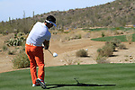 Y.E. Yang (S.KOR) in action on the 11th tee during Day 3 of the Accenture Match Play Championship from The Ritz-Carlton Golf Club, Dove Mountain, Friday 25th February 2011. (Photo Eoin Clarke/golffile.ie)