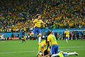 David Luiz (BRA), <br /> JUNE 12, 2014 - Football /Soccer : <br /> 2014 FIFA World Cup Brazil <br /> Group Match -Group A- <br /> between Brazil 3-1 Croatia <br /> at Arena de Sao Paulo, Sao Paulo, Brazil. <br /> (Photo by YUTAKA/AFLO SPORT)