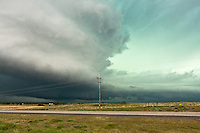 Severe thunderstorm in Kansas, May 26, 2008