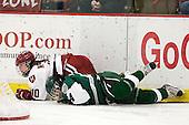 Gina McDonald (Harvard - 10), Sasha Nanji (Dartmouth - 24) - The visiting Dartmouth College Big Green defeated the Harvard University Crimson 3-2 on Wednesday, November 23, 2011, at Bright Hockey Center in Cambridge, Massachusetts.