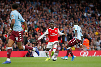 Nicolas Pépé of Arsenal doing a step over during the Premier League match between Arsenal and Aston Villa at the Emirates Stadium, London, England on 22 September 2019. Photo by Carlton Myrie / PRiME Media Images.