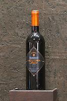 Merlot. Biblia Chora Winery, Kokkinohori, Kavala, Macedonia, Greece