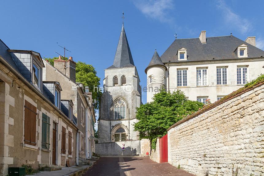France, Nièvre (58), Réserve naturelle nationale du val de Loire, Pouilly-sur-Loire, église Saint-Pierre