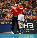 08.01.2019, Hohenschoenhausen, Berlin, GER, Handball WM, DHB,  TRAINING, im Bild <br /> Fabian Wiede (GER #10), Paul Drux (GER #95)<br /> <br />      <br /> Foto &copy; nordphoto / Engler