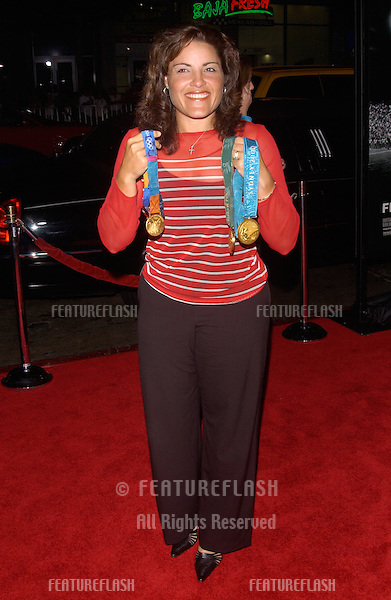 US Olmpic softball gold medalist LISA FERNANDEZ at the world premiere, in Hollywood, of Friday Night Lights..October 6, 2004