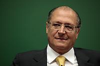 SAO PAULO, 03  DE MAIO DE 2012.  SEMINARIO INTERNACIONAL DE LIBERDADE DE EXPRESSÃO. O Governador Geraldo Alckmin durante o seminário internacional de Liberdade de expressão , na regiao da Av Paulista.FOTO: ADRIANA SPACA - BRAZIL PHOTO PRESS.