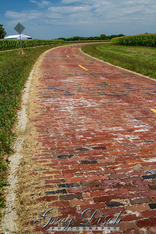 1.53 mile segment of  Historic Route 66 near Auburn Illinois,  contains two original single span concrete bridges constructed in 1920 and paved with brick in 1932. The section served as Route 66 until it was rerouted in 1930.