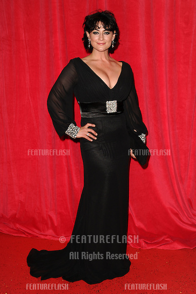 Natalie J Robb  arriving for the 2014 British Soap Awards, at the Hackney Empire, London. 24/05/2014 Picture by: Steve Vas / Featureflash