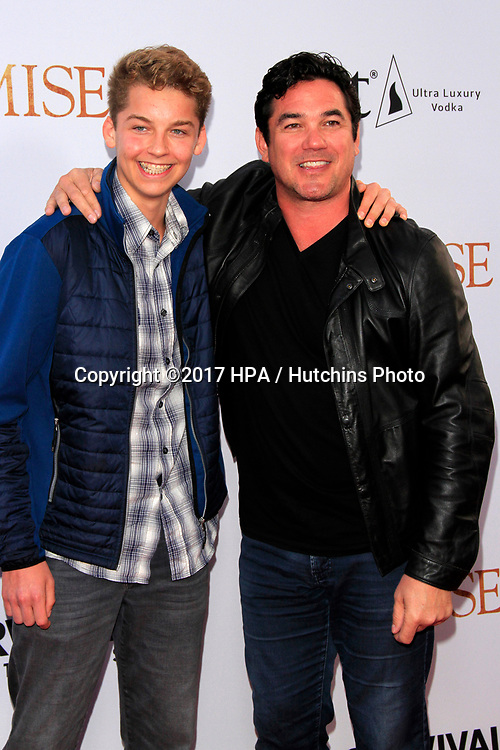 """LOS ANGELES - APR 12:  Christopher Cain, Dean Cain at the """"The Promise"""" Premiere at the TCL Chinese Theater IMAX on April 12, 2017 in Los Angeles, CA"""
